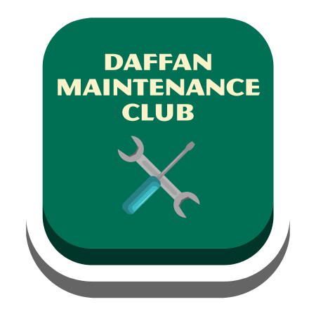 Daffan Maintenance Club Button
